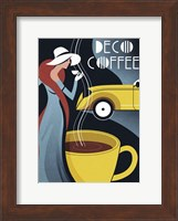 Framed Art Deco Coffee