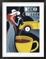 Framed Art Deco Coffee
