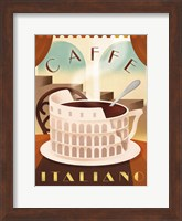 Framed Coffee Italy