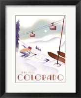 Framed Colorado Skiing