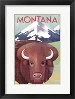 Framed Montana