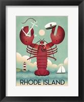 Framed Rhode Island