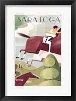 Framed Saratoga