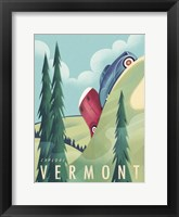 Framed Vermont Camping