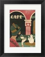 Framed Art Deco Cafe