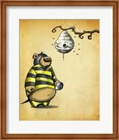 Framed Bumblebear