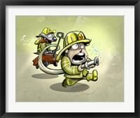 Framed Fire