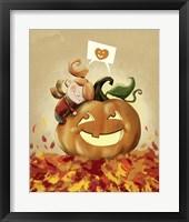 Framed I Love Fall