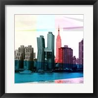 Framed Heart of a City I