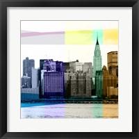 Framed Heart of a City II