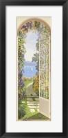 Framed Giardino sul Lago