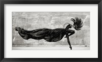 Framed Black Swan