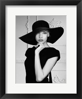 Framed Lady with a Hat