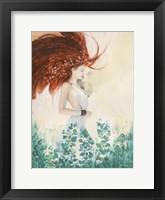 Framed Fairy of Spring