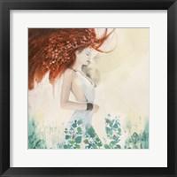 Framed Fairy of Spring (detail)