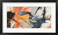 Framed Oranges & Blues