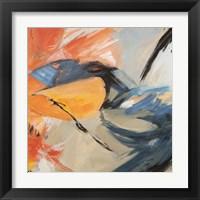 Framed Oranges & Blues (detail)
