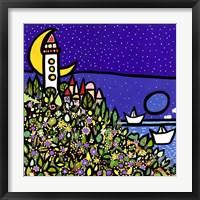 Framed La Sentinella del Mare