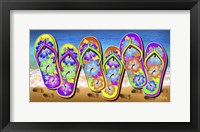 Framed Tropical Flip Flops