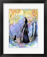 Framed Witch and Black Cat