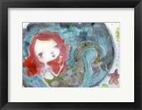 Framed Serenity Mermaid