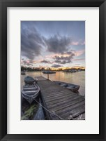 Framed Houseboat Pier