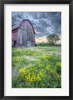 Framed Pennsylvania Barn