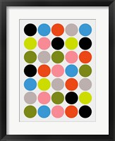 Framed Candied Dots