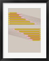 Framed Shifting Yellows