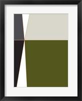 Framed Wide Open Green 1