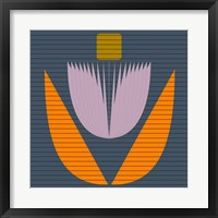 Framed Princess Lotus Flower