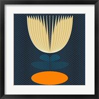 Framed Lotus Lily Pad