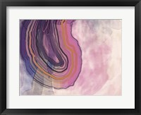 Framed Xray Agate Purple