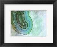 Framed Xray Agate Aqua