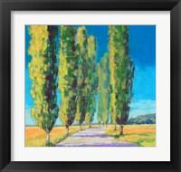 Framed Poplars Normandy II
