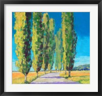Framed Poplars Normandy II
