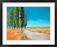 Framed Poplars II