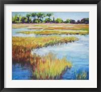 Framed Early Fall Marsh