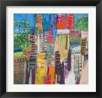 Framed City Skyline 3