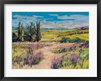 Framed Wild Lavender
