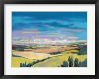 Framed Patchwork Fields V
