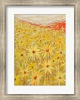 Framed Spanish Sunflowers VI