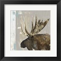 Framed Moose Tails I