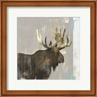 Framed Moose Tails II