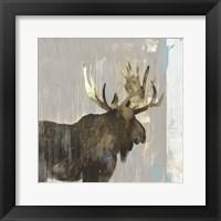 Framed Moose Tails II