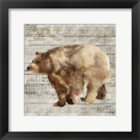 Framed Crossing Bear II
