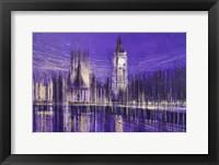 Framed Westminster At Midnight