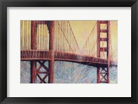Framed Golden Gate Bridge