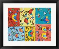 Framed Bird Stories