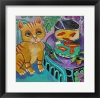 Framed Le Chat De Matisse